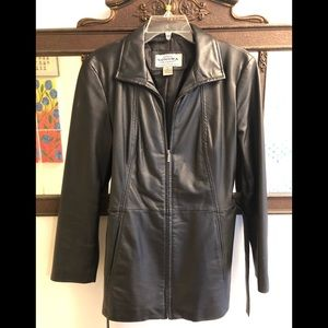 Sonoma Black Leather Jacket/Coat